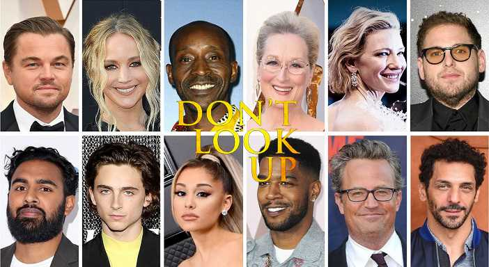 Don't Look Up Filme de Adam McKay para a Netflix vai ter um elenco de luxo
