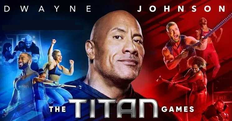 Dwayne Johnson regressa para a temporada 2 de The Titans Games