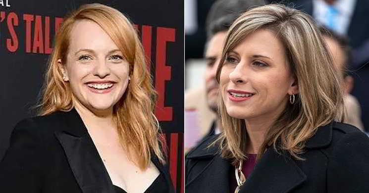 Elisabeth Moss será a congressista Katie Hill num filme