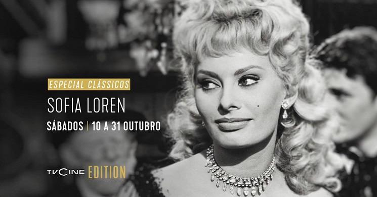 Especial Clássicos: Sophia Loren no TVCine Emotion
