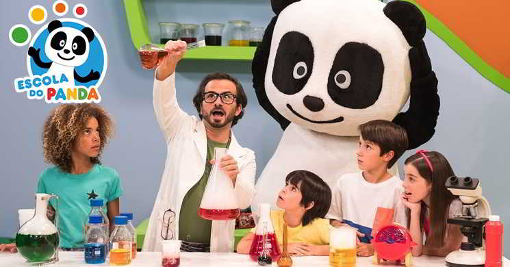 Estreia da Temporada 3 da Escola do Panda