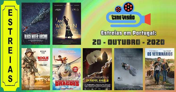 Estreias nos cinemas portugueses: 15 de outubro de 2020