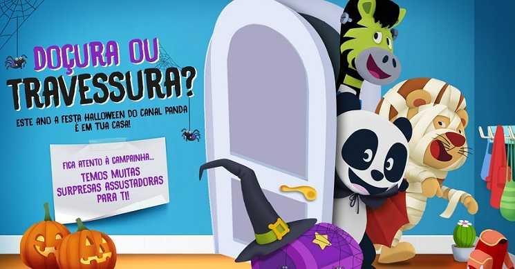 Celebra a festa do Halloween em casa com o Canal Panda