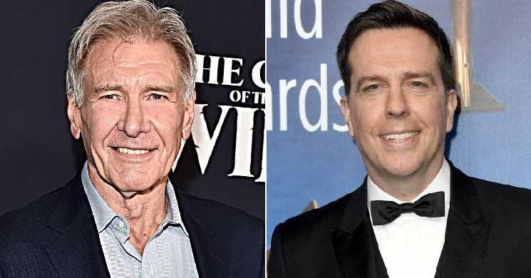 Harrison Ford e Ed Helms serão os protagonistas de uma nova comédia