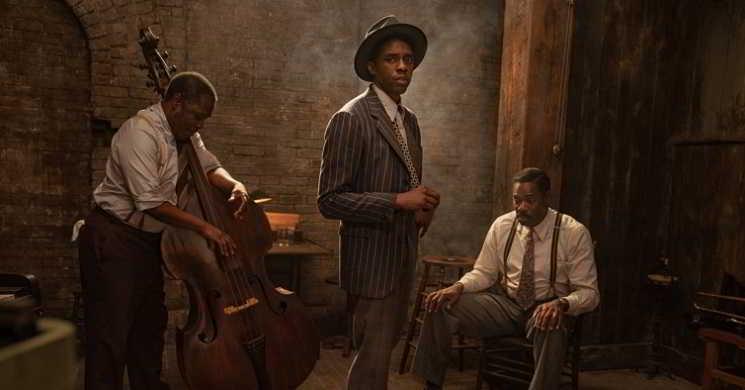 Primeiras imagens do ultimo filme de Chadwick Boseman