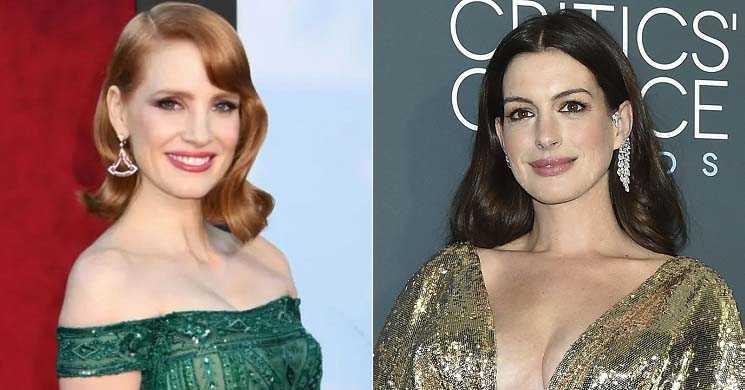 Jessica Chastain e Anne Hathaway vão protagonizar