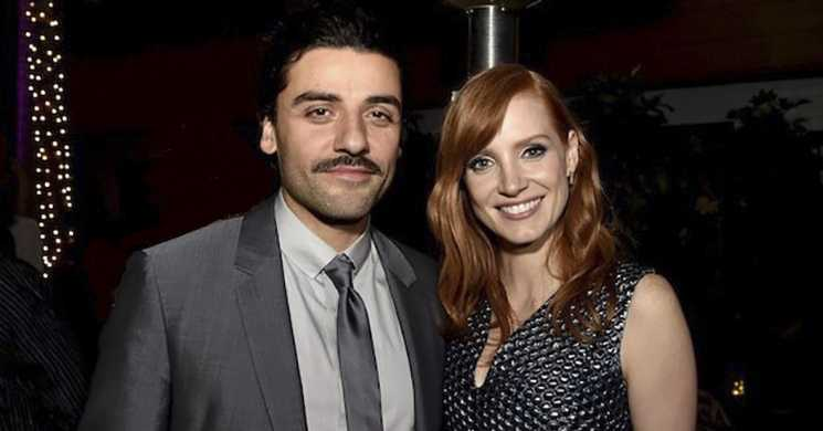 Jessica Chastain e Oscar Isaac em Scenes From a Marriage