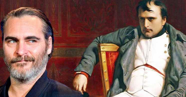 Joaquin Phoenix vai interpretar Napoleão Bonaparte