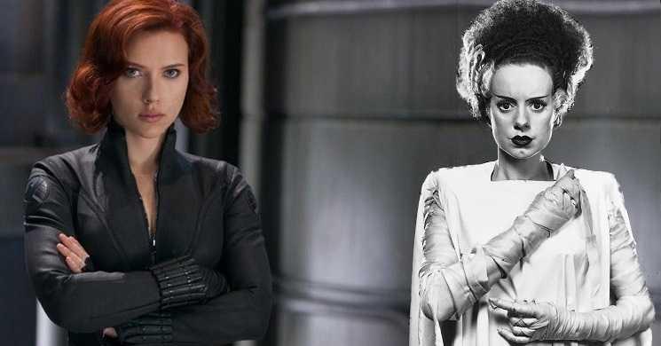 Scarlett Johansson será a noiva de Frankenstein em