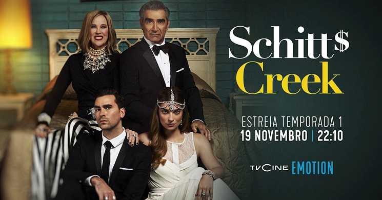 Schitt's Creek estreia no TVCine Emotion