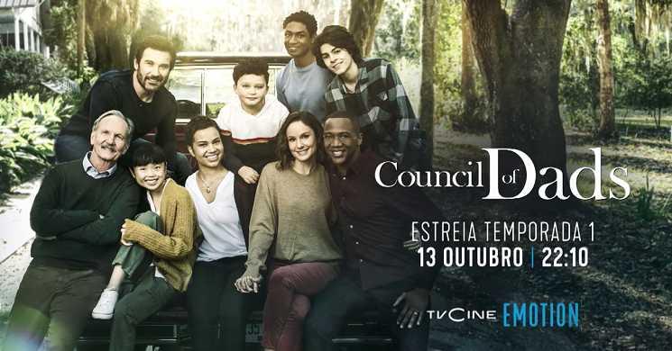TVCine Emotion estreia temporada 1 de Council of Dads