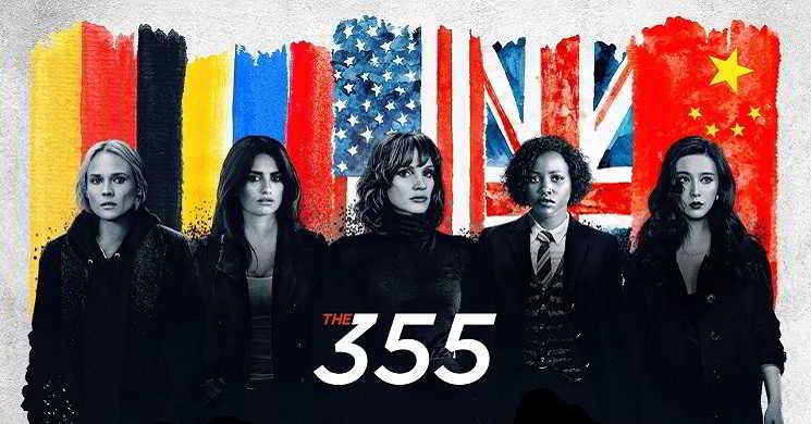 Jessica Chastain lidera uma equipa de agentes femininas no trailer de