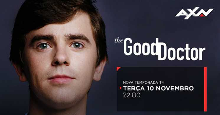 AXN Portugal estreia temporada 4 de The Good Doctor