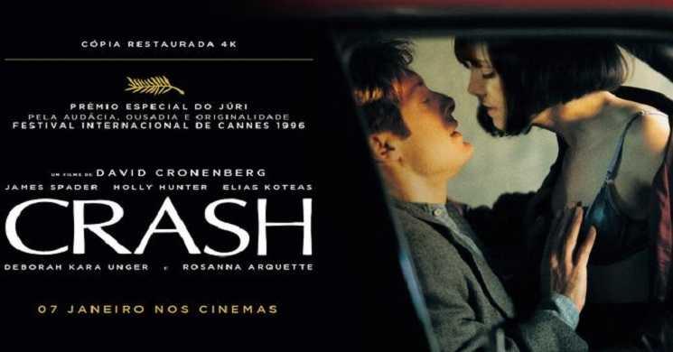 Crash Filme de David Cronenberg regressa aos cinemas em 4k