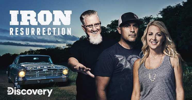 Discovery estreia temporada 4 de Iron Resurrection
