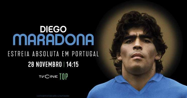 Documentário Diego Maradona estreia no TVCine Top