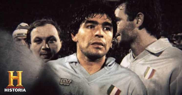 Canal História com programação especial de homenagem a Diego Maradona
