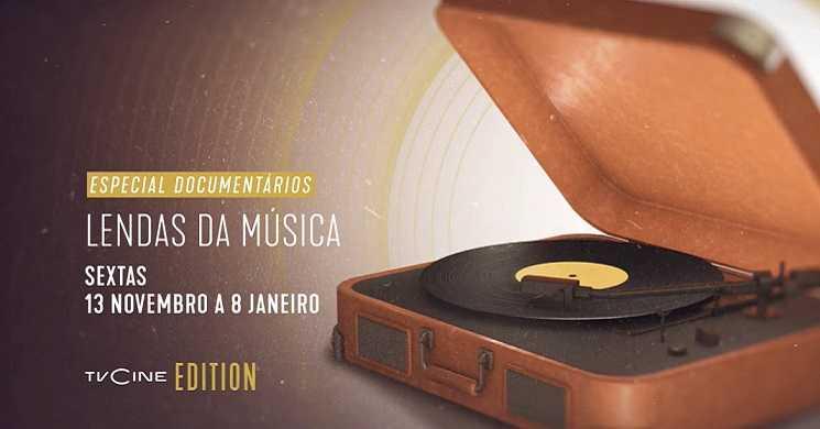 Especial Documentários: Lendas da Música no TVCine Edition