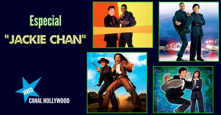 Especial Jackie Chan no Canal Hollywood