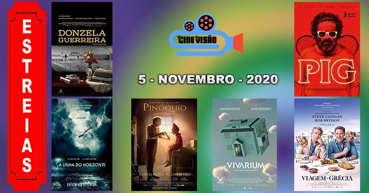 Estreias nos cinemas portugueses: 5 de novembro de 2020