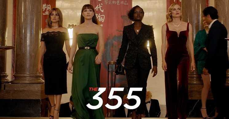 Filme 355 adiado para janeiro de 2022