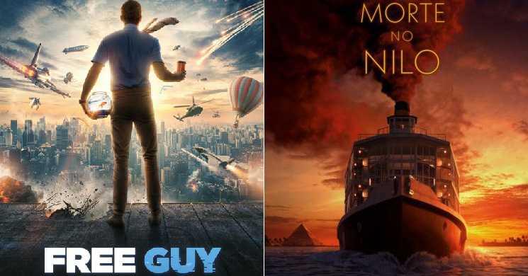 Free Guy e Morte no Nilo com estreia adiada