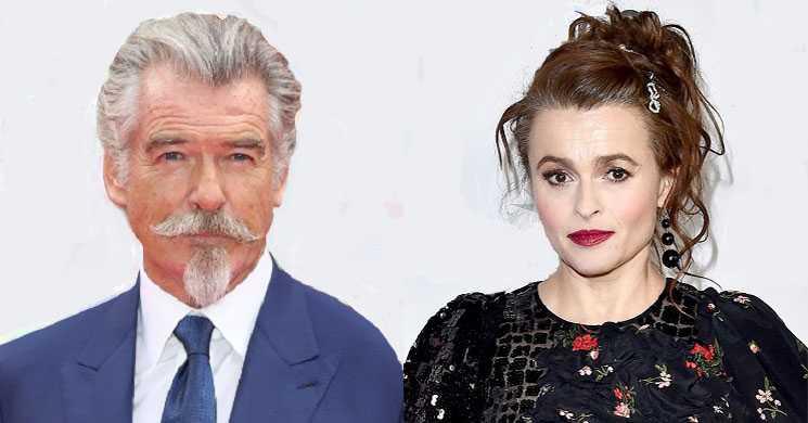 Pierce Brosnan e Helena Bonham Carter vão protagonizar