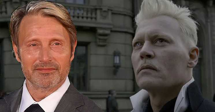 """Mads Mikkelsen em negociações para substituir Johnny Depp em """"Monstros Fantásticos"""""""