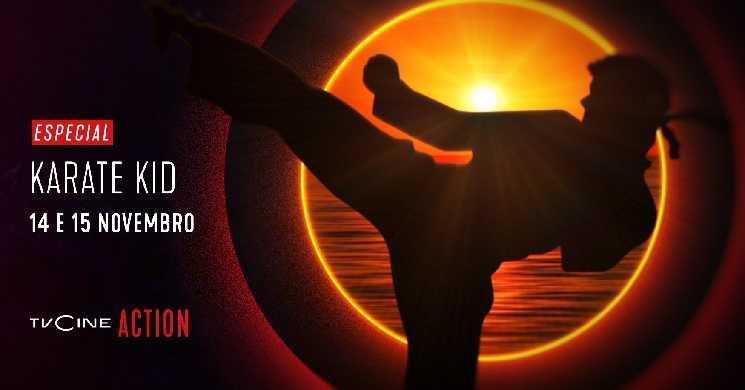 Saga Karate Kid no TVCine Action