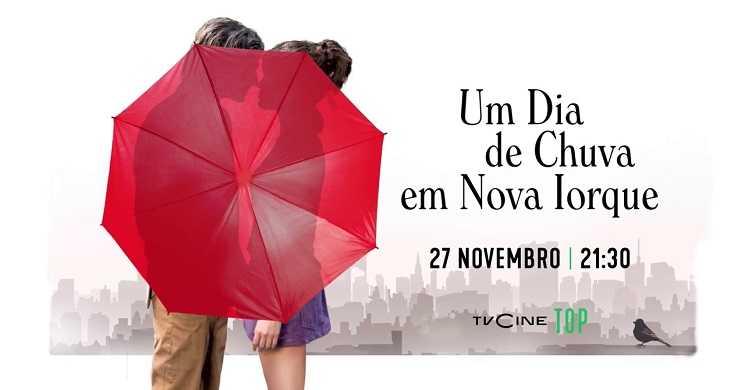 TVCine estreia o filme Um Dia De Chuva em NY