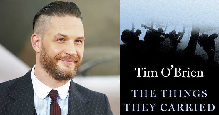 Tom Hardy no elenco do filme The Things They Carried