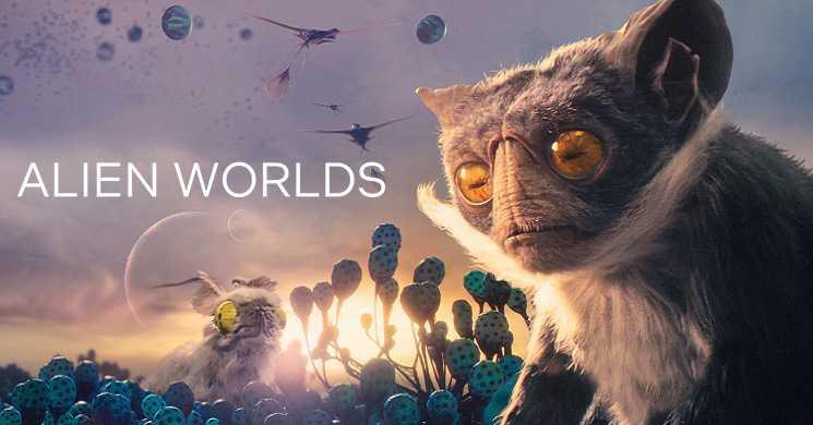 ALIEN WORLDS - Trailer oficial T1 (Série Netflix)