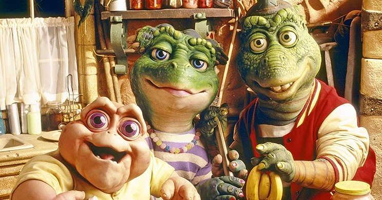 4 temporadas da serie Dinosaurs no Disney Plus
