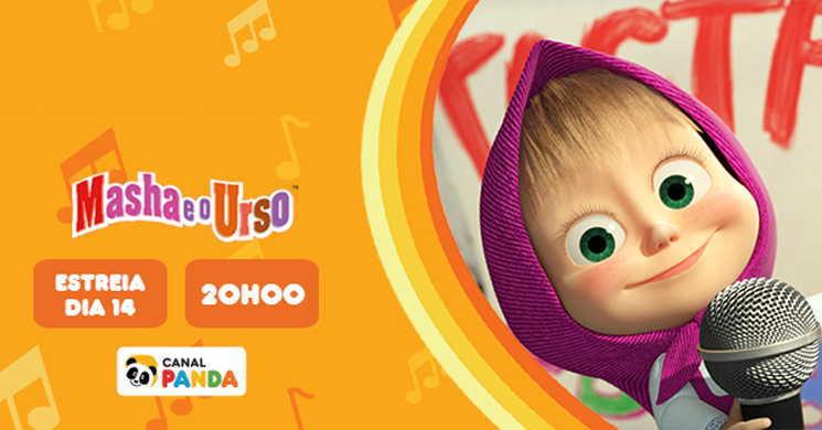 Canal Panda estreia Masha e o Urso as Canções da Masha