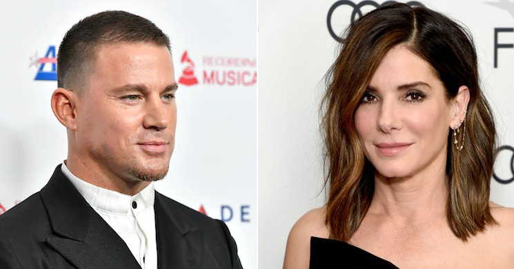 Channing Tatum e Sandra Bullock no filme The Lost City Of D