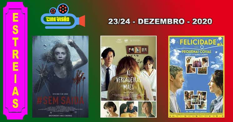 Estreias nos cinemas portugueses: 23 e 24 de dezembro de 2020
