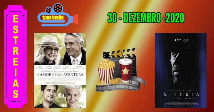 Estreias nos cinemas portugueses: 30 de dezembro de 2020