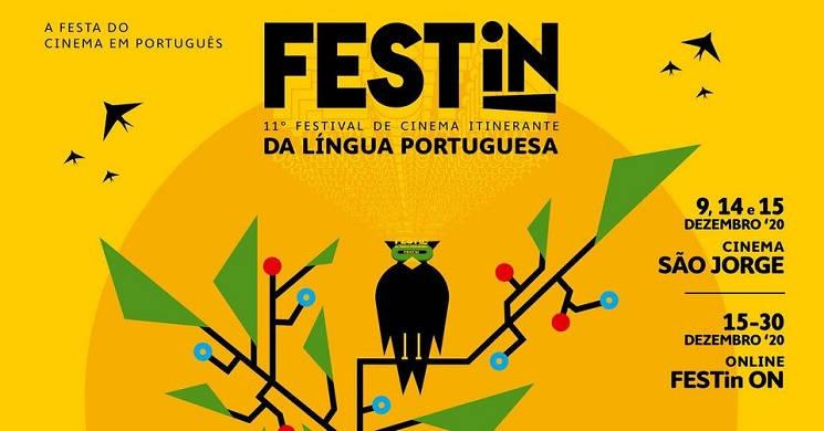 Programa do festival de cinema Festin 2020