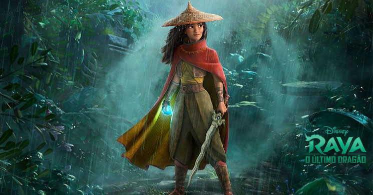 Raya e o Último Dragão estreia no Disney + e cinemas