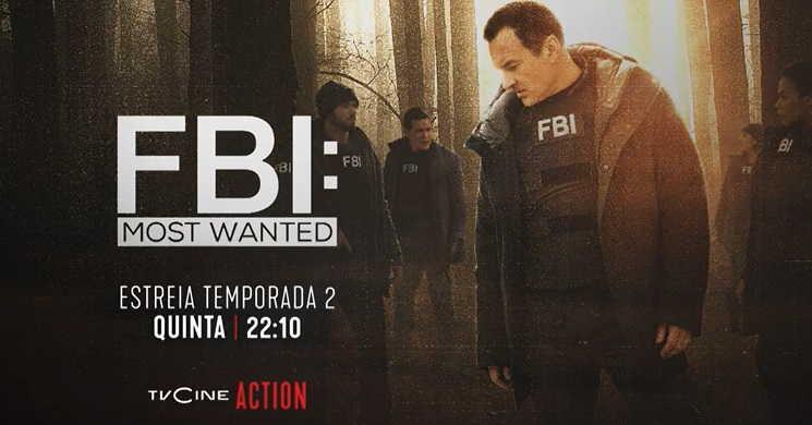 TVCine Action estreia temporada 2 de FBI: Most Wanted