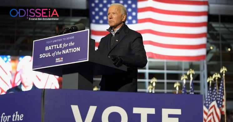 Canal Odisseia estreia Joe Biden, o vencedor