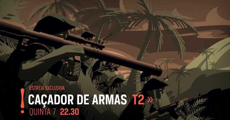 Canal Odisseia estreia temporada 2 de Caçador de Armas