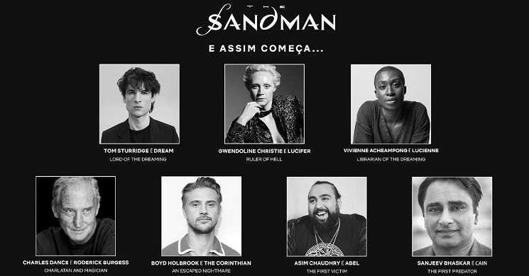 Elenco da série The Sandman