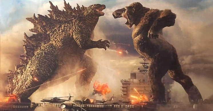 Estreia do filme Godzilla vs. Kong foi antecipada