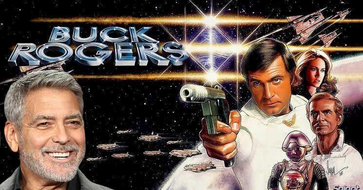 George Clooney vai produzir e pode protagonizar reboot televisivo Buck Rogers