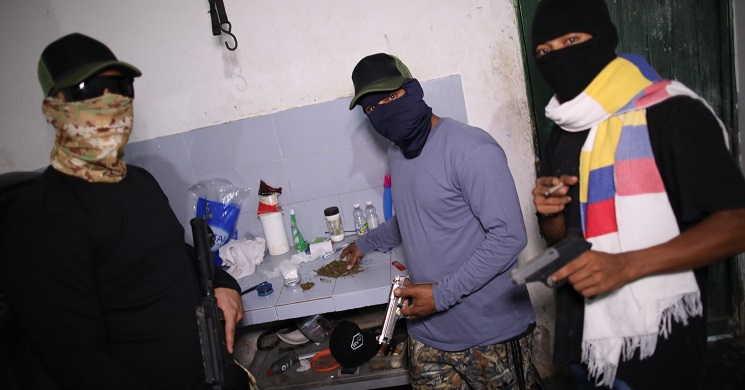 Imagem da série Narco Wars