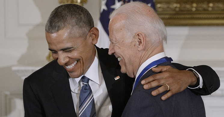 Imagem de Joe Biden o vencedor