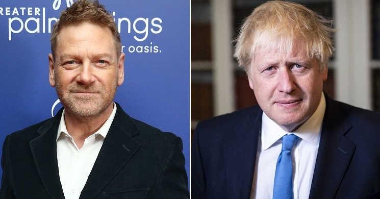 Kenneth Branagh será Boris Johnson na série This Sceptered Isle