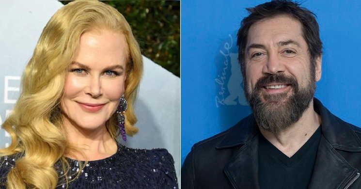 Nicole Kidman e Javier Bardem no filme de Aaron Sorkin