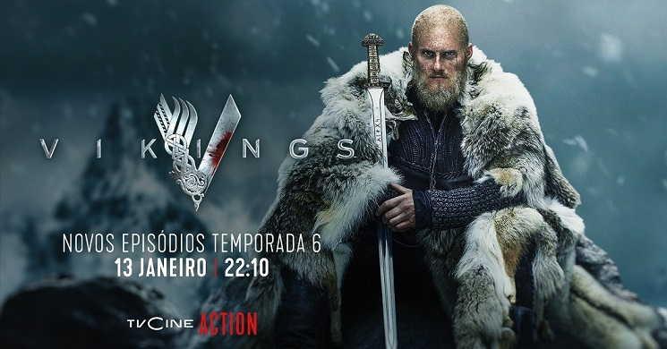 TVCine estreia novos episódios de Vikings